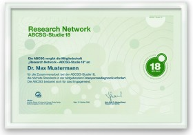 ABCSG-18 research network